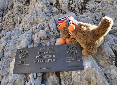 Klettersteig Pößnecker : Pößnecker klettersteig murmels
